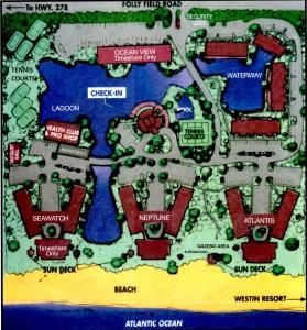 Island Club of Hilton Head Property Map